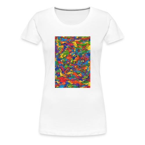 Color_Style - Camiseta premium mujer