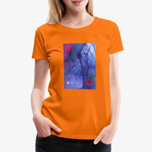 Forest Flower - Koszulka damska Premium
