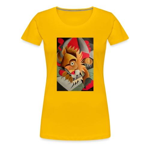 leone - Maglietta Premium da donna