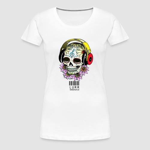 smiling_skull - Women's Premium T-Shirt