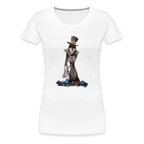 AirbrushDealer - Frauen Premium T-Shirt