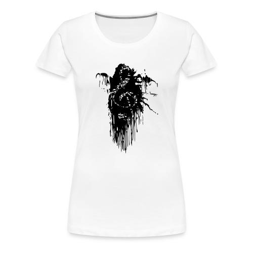 Notenschluessel Farbfleck 2 - Frauen Premium T-Shirt