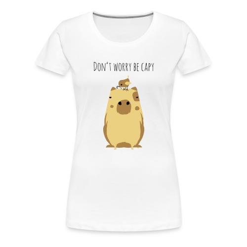 Wasserschwein Spruch - Frauen Premium T-Shirt