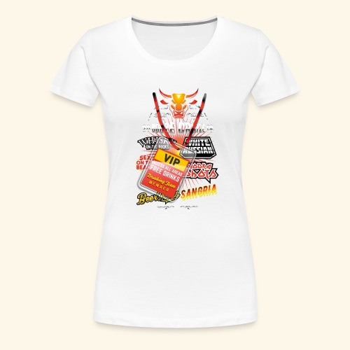 lustiges Sauftour-Shirt Booze Cruize - Frauen Premium T-Shirt