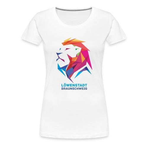 Löwenstadt Design 7 - Frauen Premium T-Shirt