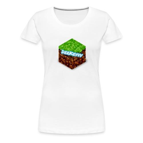 DerKevvv (Gras Block) - Frauen Premium T-Shirt