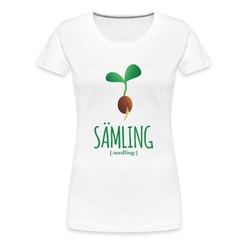 Sämling - Frauen Premium T-Shirt