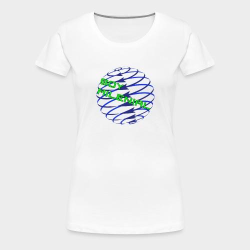 I am Millennial. - Women's Premium T-Shirt