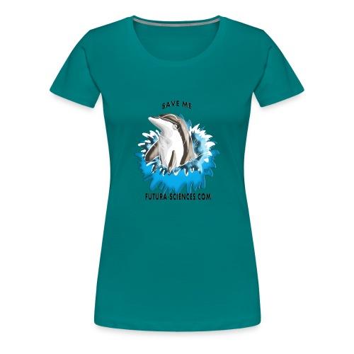 dauphin base 1 fs version 3 titre - T-shirt Premium Femme