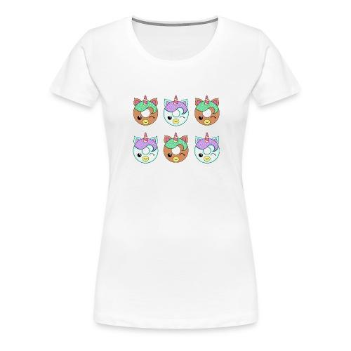 Unicorn Donut - Maglietta Premium da donna