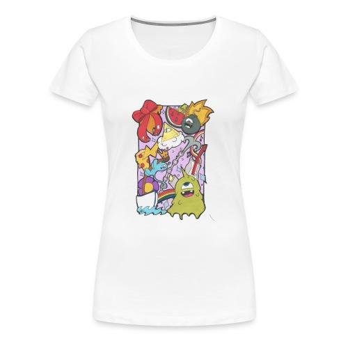bobby land - T-shirt Premium Femme