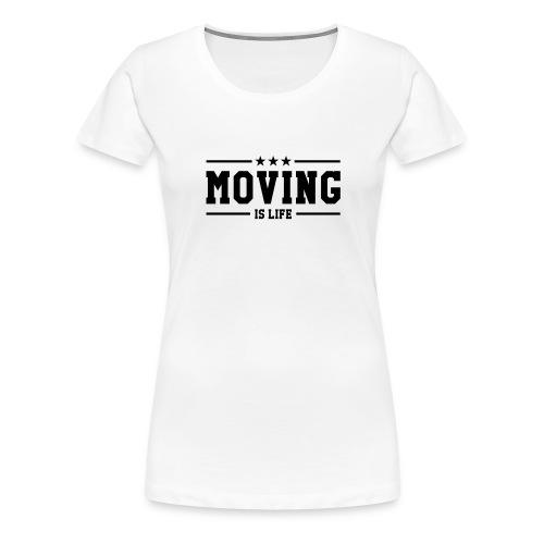 Déménageur / Déménagement / Déménager / Camion - T-shirt Premium Femme