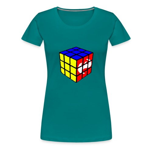 Highfish rubixcube - Frauen Premium T-Shirt