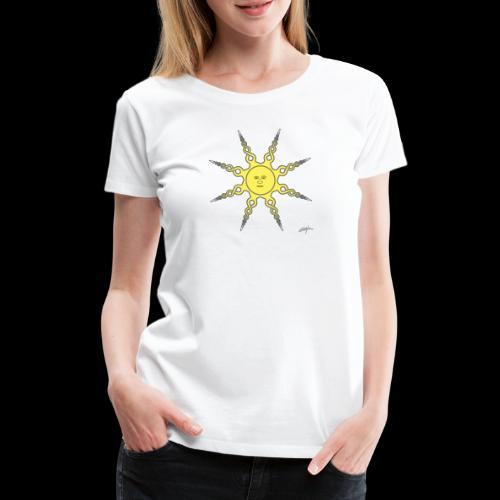 D22 Quiet Sun v1 Yellow - Camiseta premium mujer