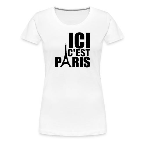 ICI C'EST PARIS - T-shirt Premium Femme