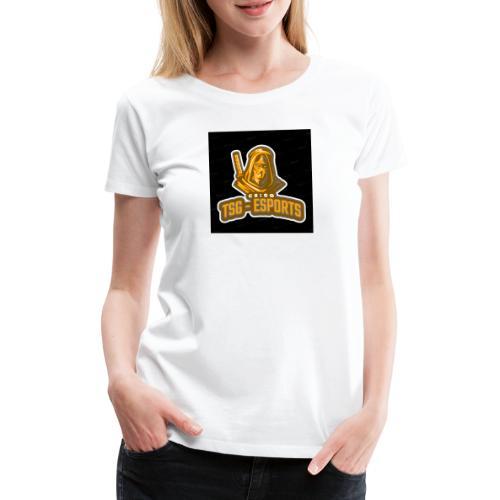 Tsg-Esports Logo main. - Dame premium T-shirt