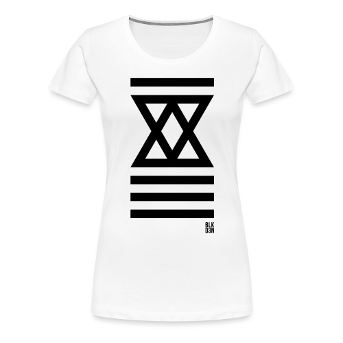 BLK D3N 006 - Women's Premium T-Shirt