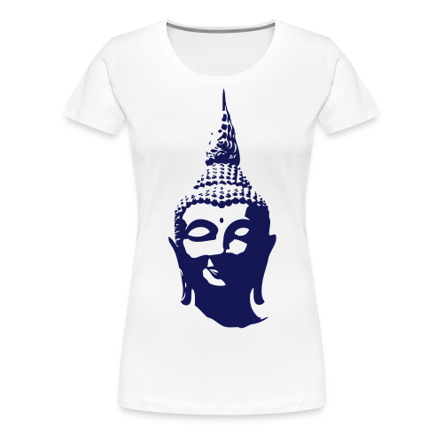 Boeddha hoofd - Vrouwen Premium T-shirt