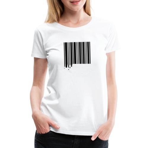 Barcode Black - Women's Premium T-Shirt