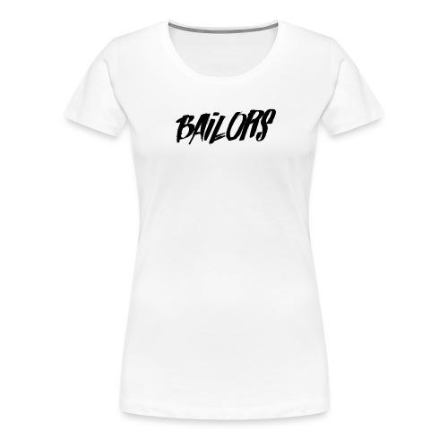 Bailors painted - Vrouwen Premium T-shirt