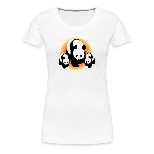 Chineese Panda's - Vrouwen Premium T-shirt