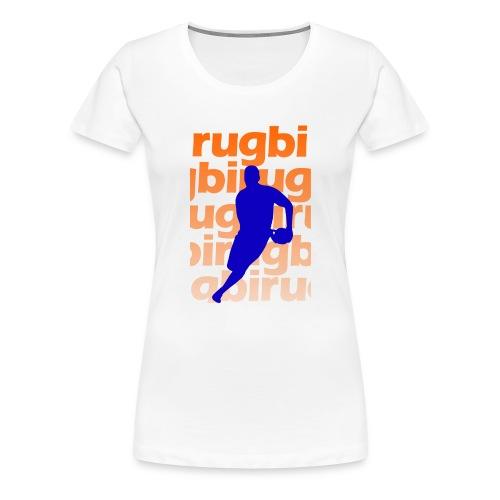 Silueta rugbi home - Camiseta premium mujer