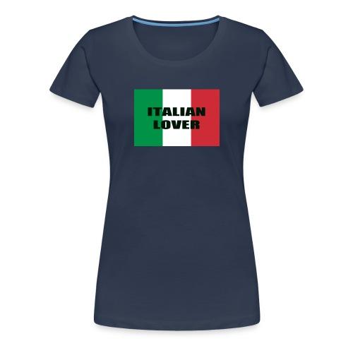 ITALIAN LOVER - Maglietta Premium da donna