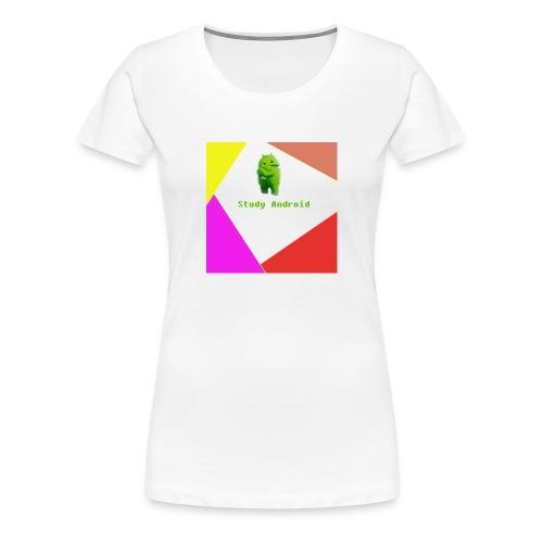 Study Android - Camiseta premium mujer