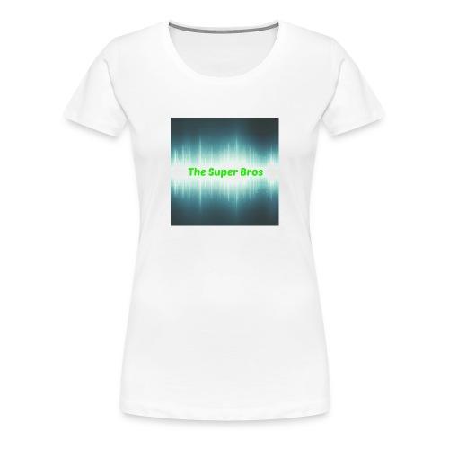 The Super Bros - Standard Fan cover (i-Phone 6/6s) - Dame premium T-shirt