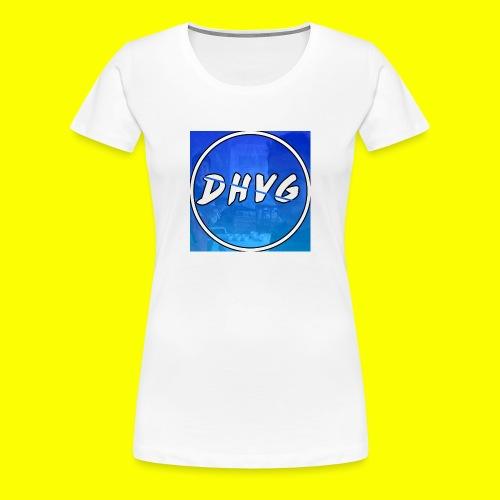 DusHeelVeelgamen New T shirt - Vrouwen Premium T-shirt
