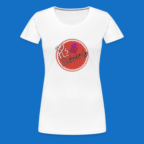 PLsSubscrib - Women's Premium T-Shirt