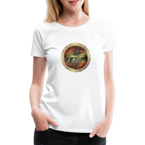 Hanuta52 Gold in Space - Frauen Premium T-Shirt
