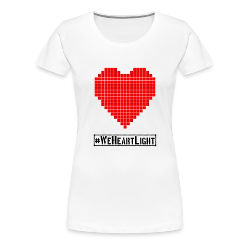 pixel heart - Women's Premium T-Shirt