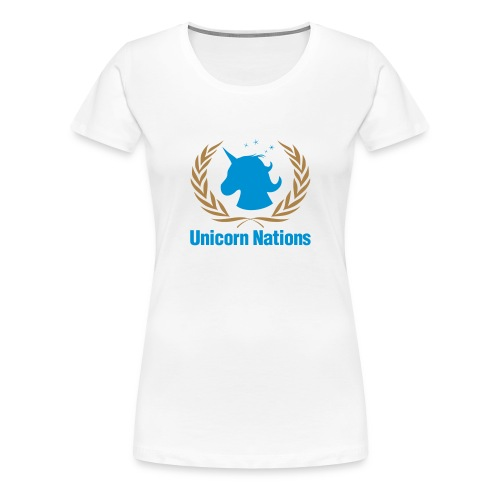 Unicorn Nations - Camiseta premium mujer