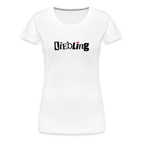 linkepv liebling schwarzrot - Frauen Premium T-Shirt