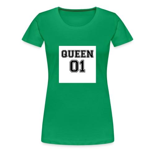 Queen 01 - T-shirt Premium Femme