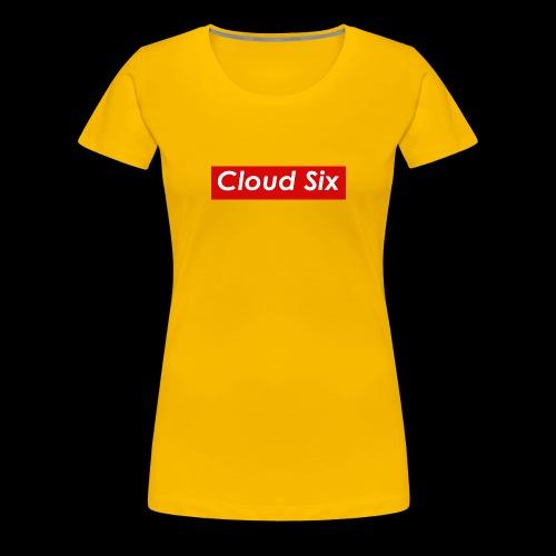 Cloud Six - Naisten premium t-paita
