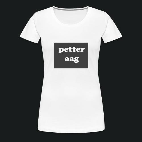 Petter1 - Premium T-skjorte for kvinner