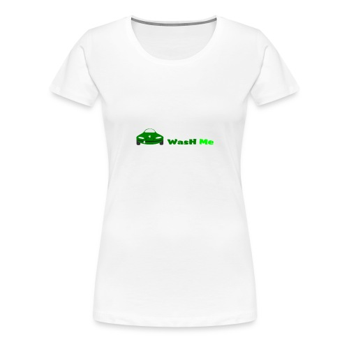 wash me - Women's Premium T-Shirt