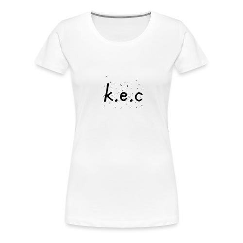 K.E.C basball t-shirt - Dame premium T-shirt