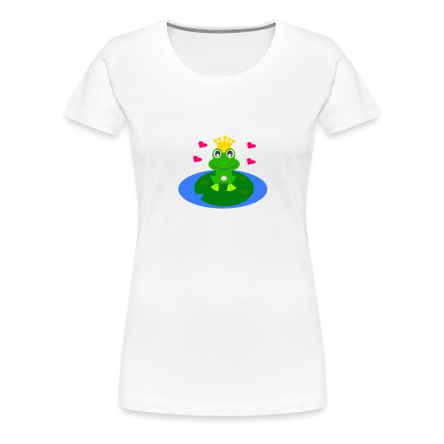 Froschkönig - Frauen Premium T-Shirt