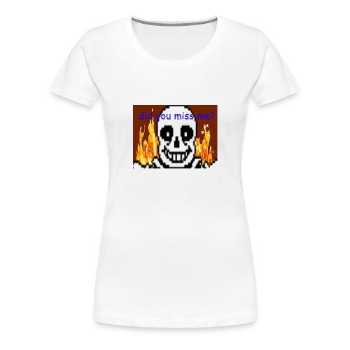 tshirt design - Premium T-skjorte for kvinner