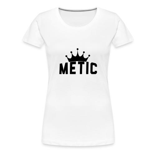 T Shirt design Black Bigger - Vrouwen Premium T-shirt