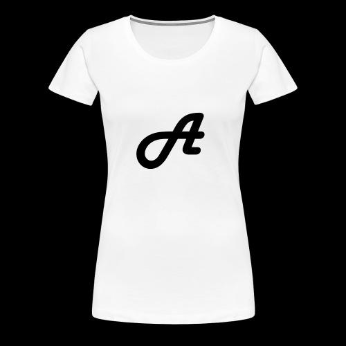 Ein Logo Swarz Weiss - Frauen Premium T-Shirt