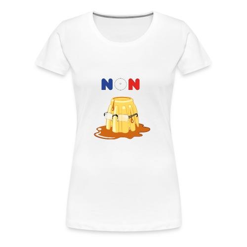 Non au Flamby - T-shirt Premium Femme