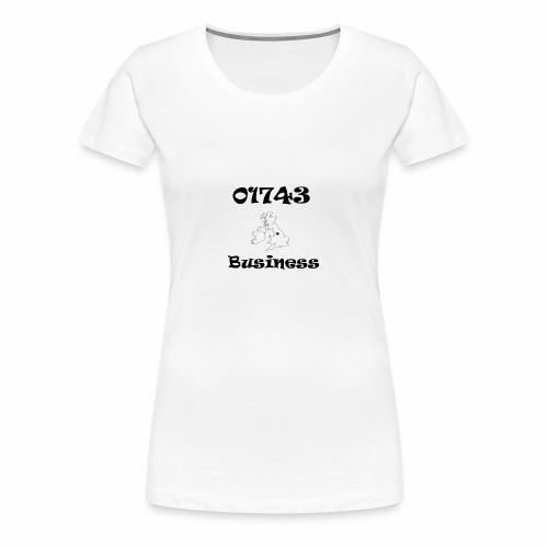 01743 Business - Women's Premium T-Shirt