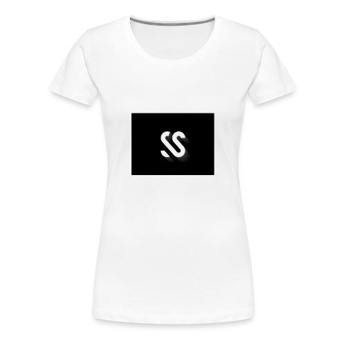 image - Premium T-skjorte for kvinner