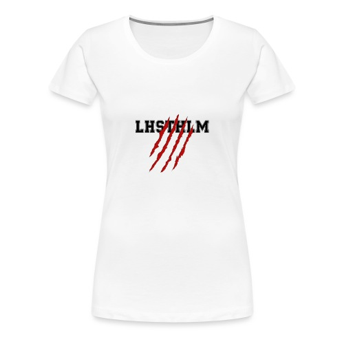 SCRATCH MERCH LHSTHLM - Premium-T-shirt dam