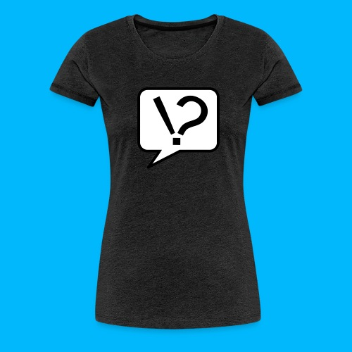 Schlaumacher logo trans png - Frauen Premium T-Shirt
