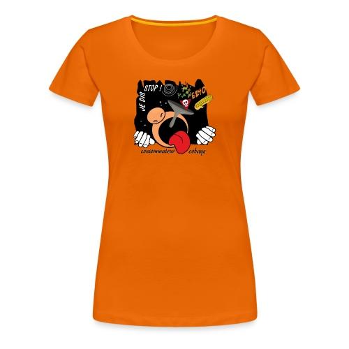 consommateur cobaye - T-shirt Premium Femme